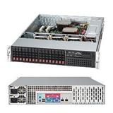 "Supermicro® SC219A-R920LPB 2U, 16 x SAS/SATA 2.5"" w/ SES-II Drive Support, 920W Redundant PSU, Low Profile, 26.93"" depth"