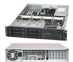 Supermicro® SC822T-400LPB 2U chassis
