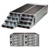 Supermicro Server FatTwin SYS-F618R2-RTN+ 8xhot-plug nodes dual CPU E5-26xxV3 4U