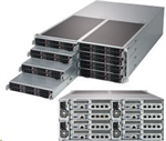 Supermicro Server FatTwin SYS-F619P2-RT 8xhot-plug nodes dual CPU 4U