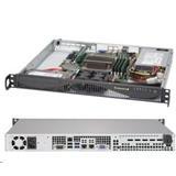 """Supermicro Server SYS-5019S-ML mini1U server 1x LGA1151, iC236, 4x DDR4 ECC, 2x 3.5"""" Fix SATA, 350W, IPMI"""