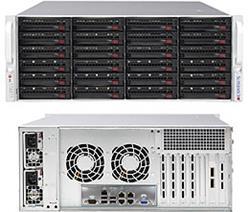 Supermicro Storage Server SSG-6048R-E1CR24H 4U DP