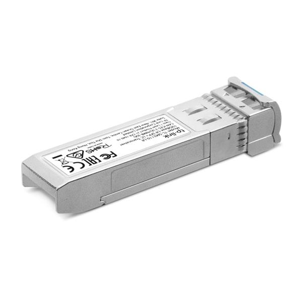 """TP-LINK """"10Gbase-LR SFP+ LC TransceiverSPEC: 1310 nm Single-mode, LC Duplex Connector, Up to 10 km Distance"""""""