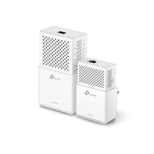 TP-LINK TL-WPA7510KITv1 AV1000 Powerline Wi-Fi KIT, Broadcom, AC750 Wi-Fi,433Mbps at 5GHz + 300Mbps at 2.4GHz