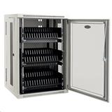 TrippLite 48-Device USB Charging Station Cabinet with Sync for iPad and Android Tablets, Wall-Mount Option, White