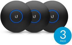 Ubiquiti UniFi Dizajnový kryt pre nanoHD (black/čierny) 3ks