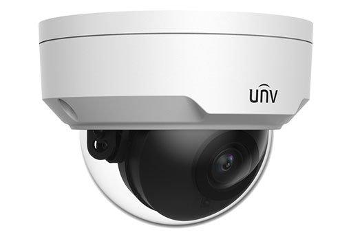 UNIVIEW IP kamera 2592x1944 (5 Mpix), až 20 sn/s, H.265,obj. 4,0 mm (80,0°), PoE, DI/DO, audio, IR 30m, WDR 120dB