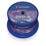 Verbatim - DVD+R 4,7GB 16x 50ks v cake obale